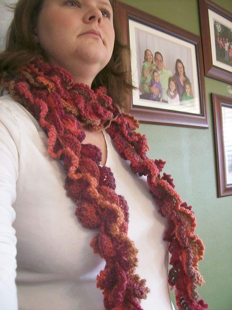 Sierra Scarf pattern by April Garwood | Scarf crochet, Scarf ...