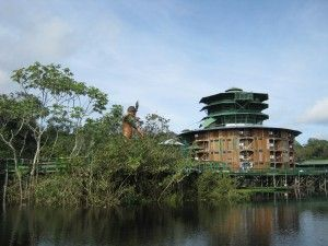 Ariau Amazon Towers Hotel, camera sull'albero-brasile