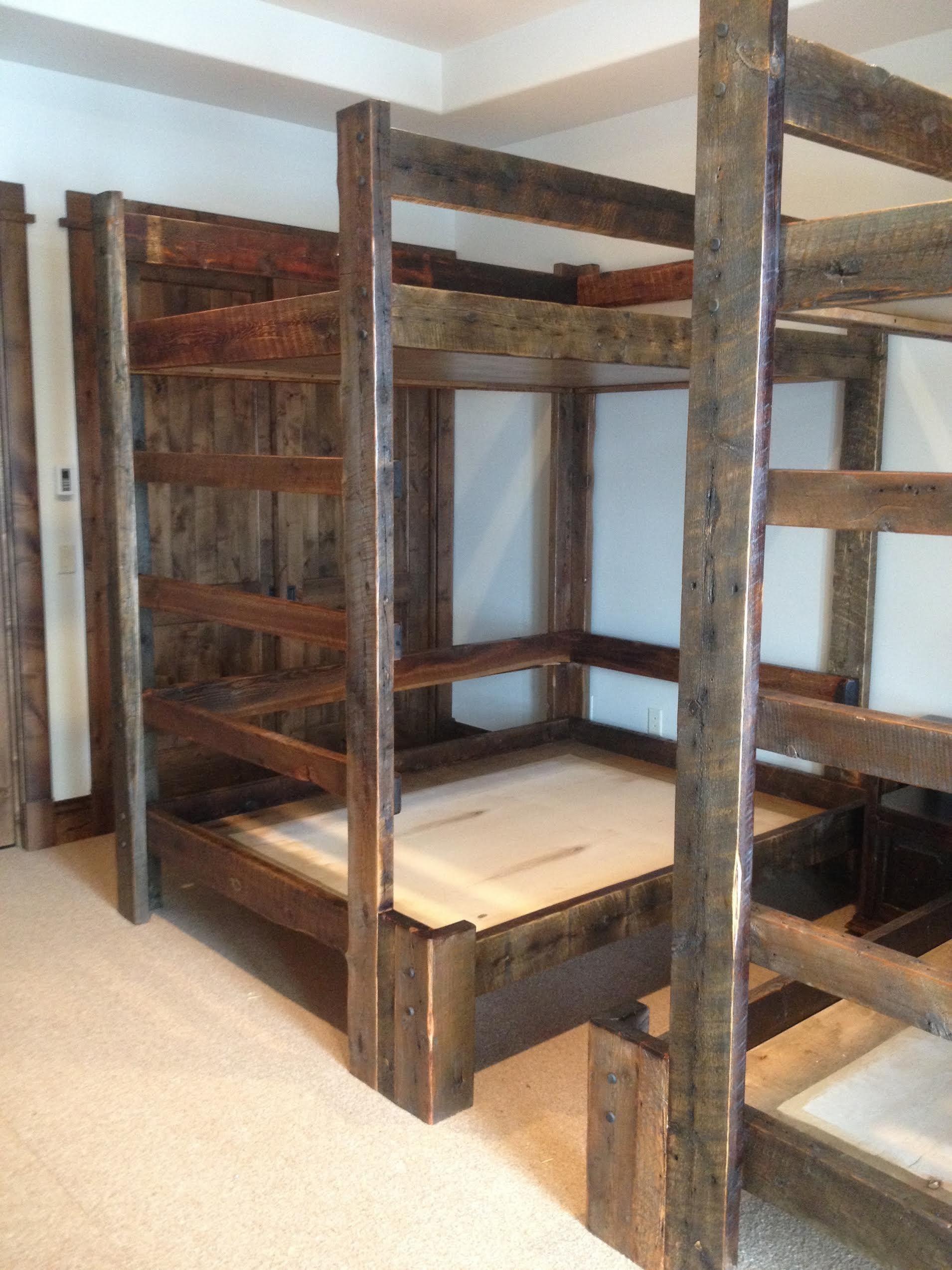 Custom Bunkroom By Mortise Tenon Woodworks