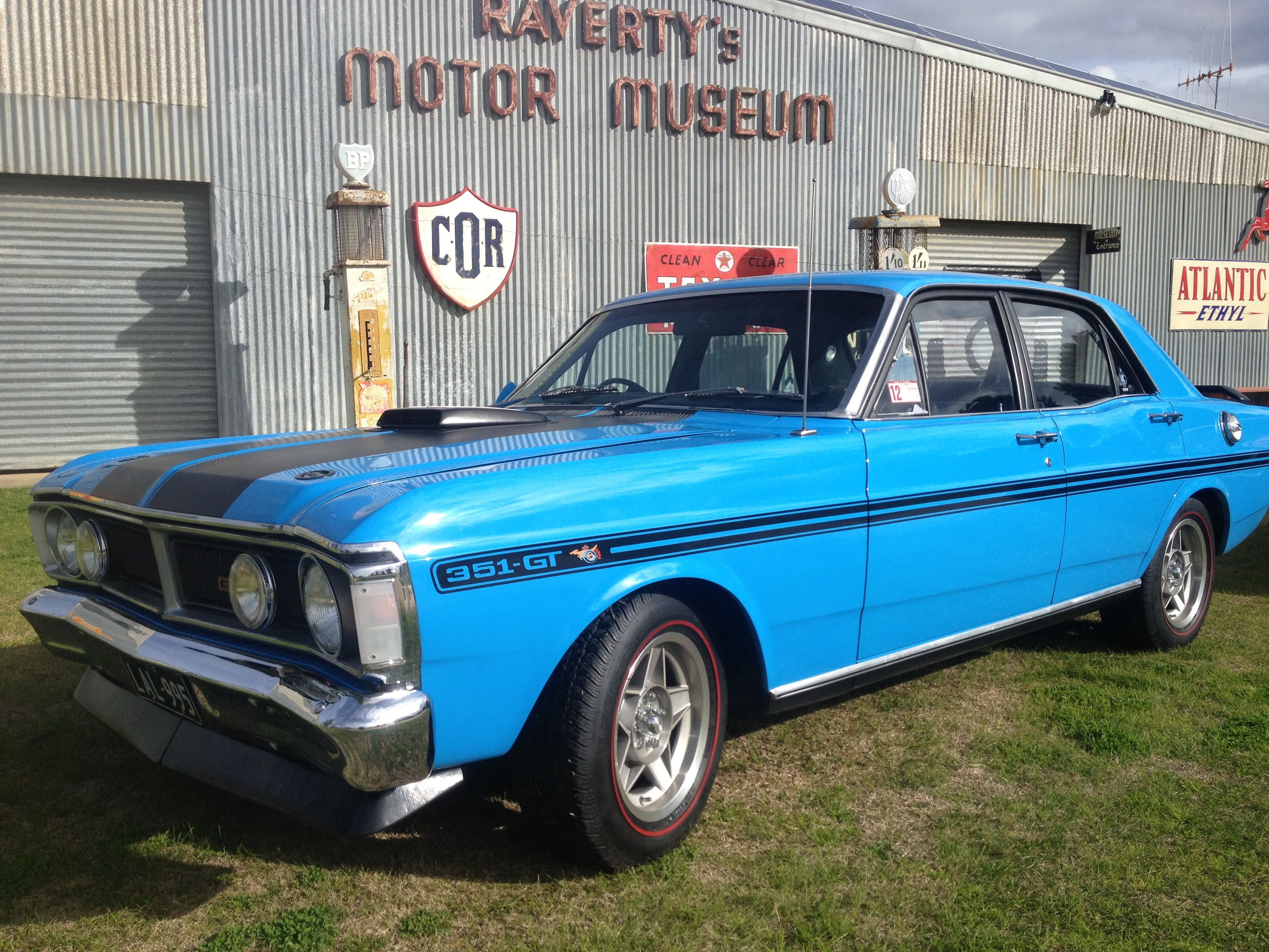 This is a genuine XY GTHO phase 3 in its original colour true blue. Aussie