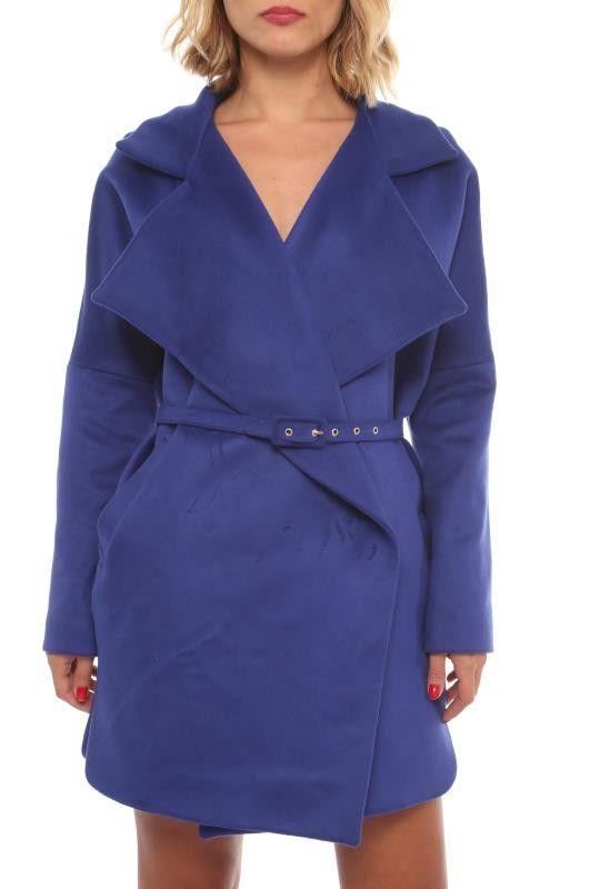 Damen Mode Winter Mantel Carina Blau | Mode, Damen mode ...