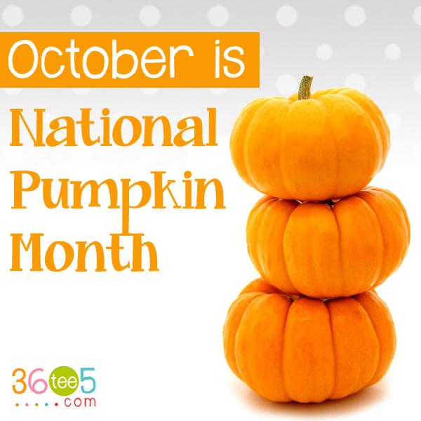 National Pumpkin Month Pumpkin October Food Holiday Recipes