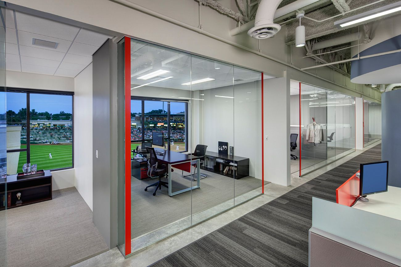 Office Tour Carson Boxberger S Open Plan Law Offices With Images