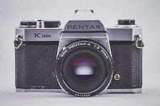 pentax k1000 35mm slr manual film camera with 50 mm f2 lens rh pinterest com Pentax K1000 BatteryType Pentax K1000 BatteryType