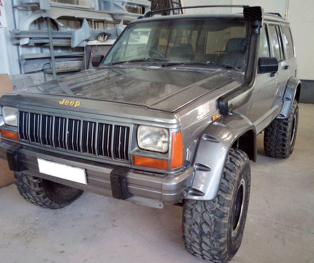 Fender Flares Wheel Arches Pocket Style For Jeep Cherokee Xj Year