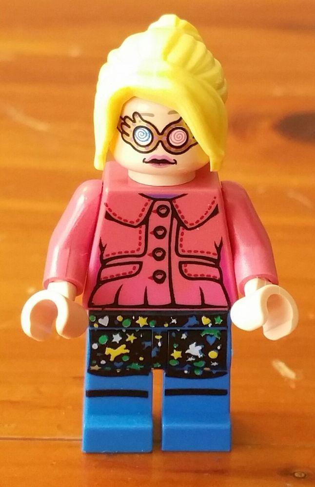 MINI FIG Light Bluish Gray Knitwear LEGO Ginny Weasley HARRY POTTER