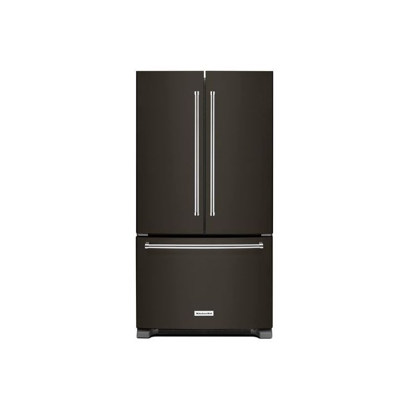 Attractive KitchenAid KRFC300E 36 Inch Wide 20 Cu. Ft. French Door Refrigerator With  Interi Black