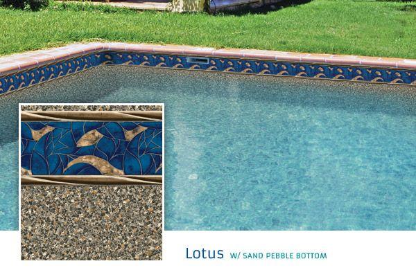 2015 Loop Loc Liner Options - Premier Pool & Spa - Lotus with Sand ...