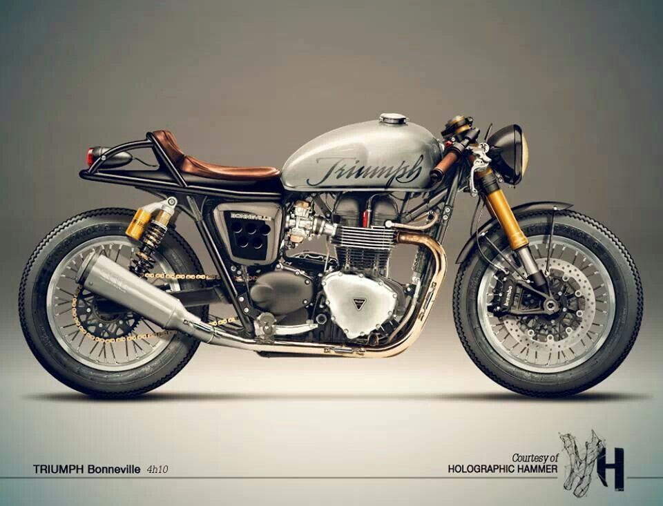 triumph bonneville cafe racer triumph customs pinterest motorr der triumph motorr der und. Black Bedroom Furniture Sets. Home Design Ideas