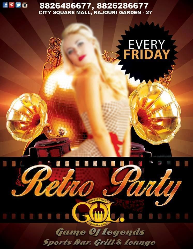 Get Retro tonight at Game Of Legends Sports Bar, Grill