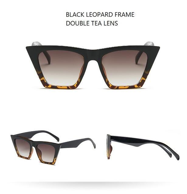 650fb56dc8 Australia Style Vintage Cat Eye Sunglasses