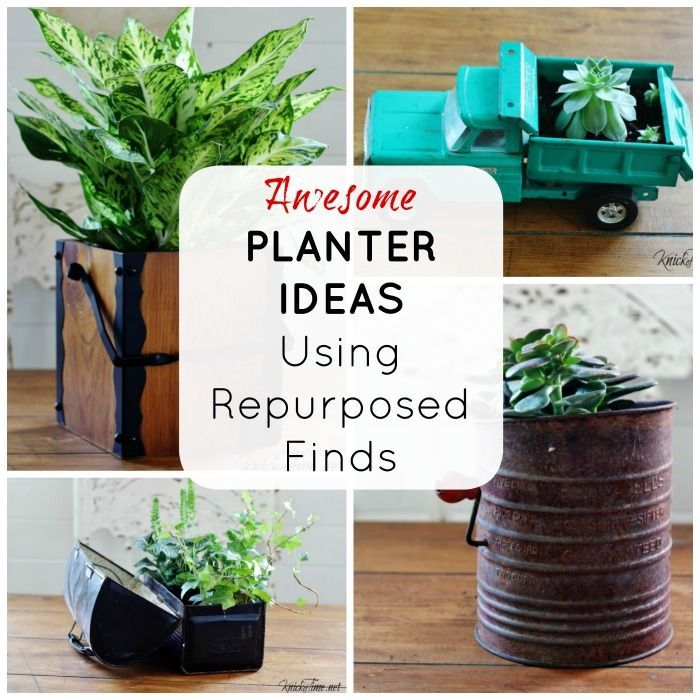 Just Put a Plant in It! – Repurposed Planters -   16 repurpose plants Potted ideas