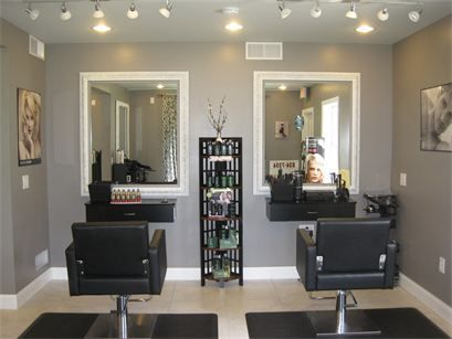 Pin By Melinda J On Home Office Salon Suites Decor Home Hair Salons Salon Interior Design