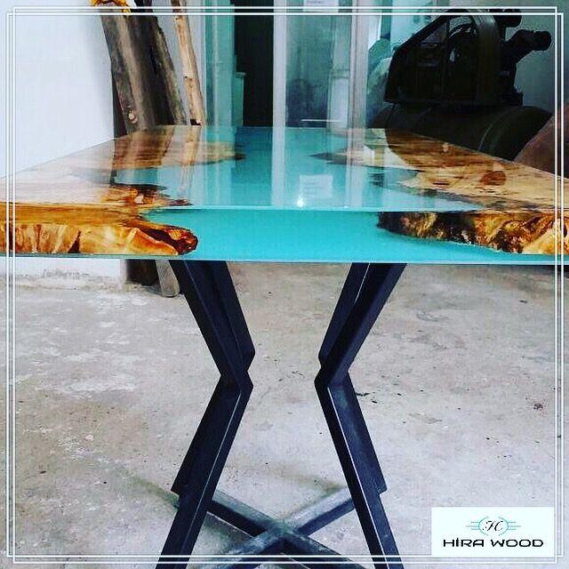 Colla Per Sedie In Legno.Epoxy Woodtable Epoksimasa Artwork Decoration Interiordesign