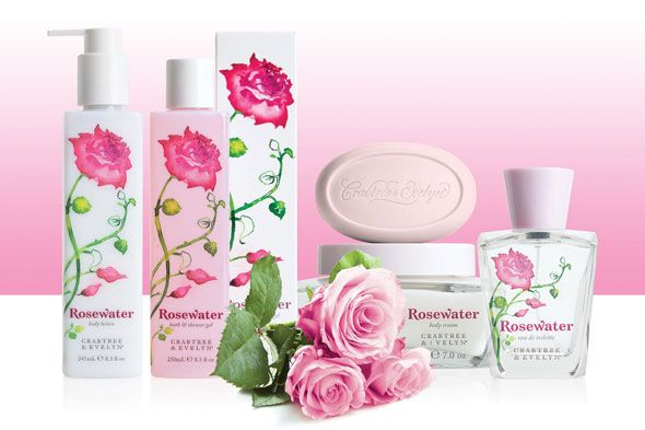 Rosewater Favorite Crabtree And Evelyn Scent Floral Fragrance Crabtree Evelyn Fragrance Collection