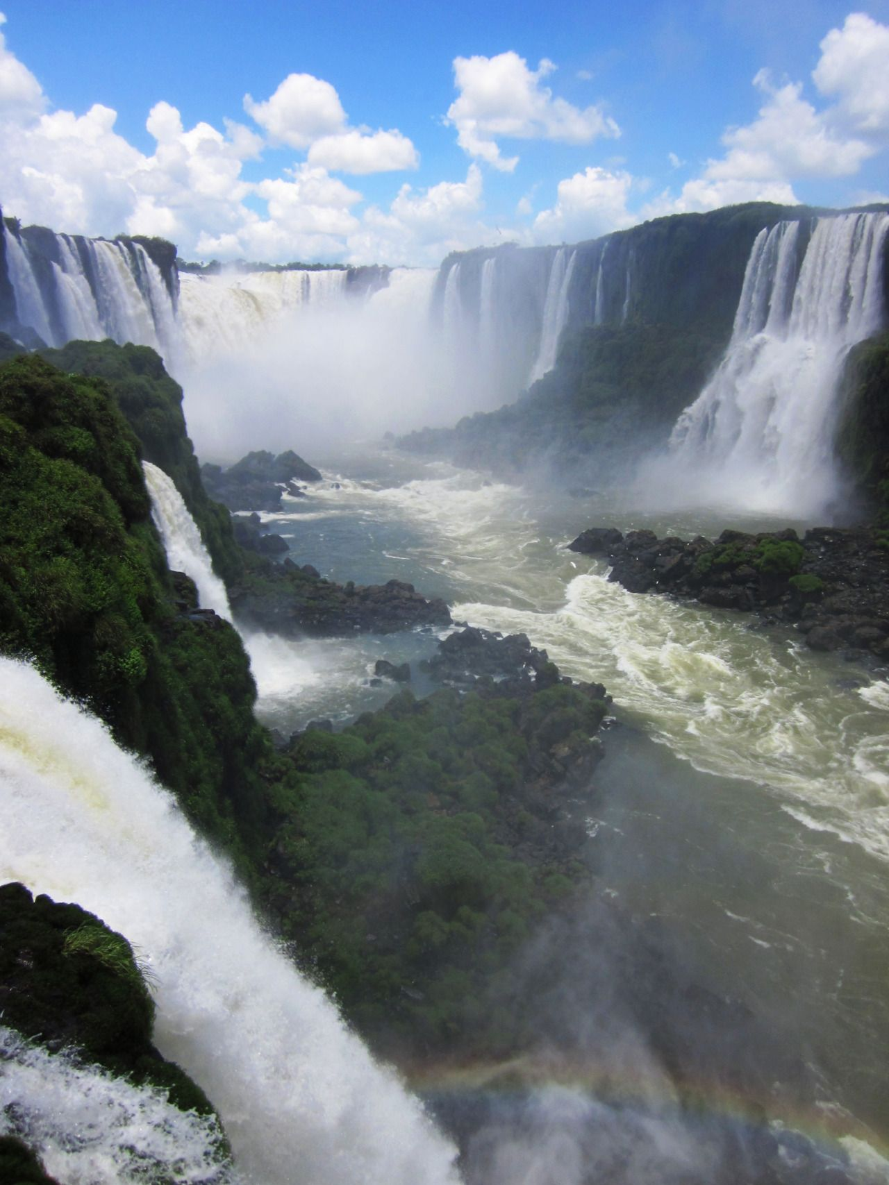 Iguazu Falls - South America. I was so close but didn't get to see this beauty!