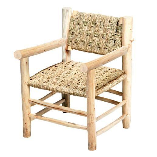 Maroc Chaises Chaise Marocaine 56x56 En Bois Naturel H85 Storebror Chaise Marocaine Furniture Resort Furniture Home Decor