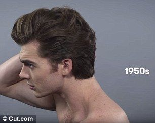 Clever Time Lapse Video Charts A Century Of MALE Beauty Trends