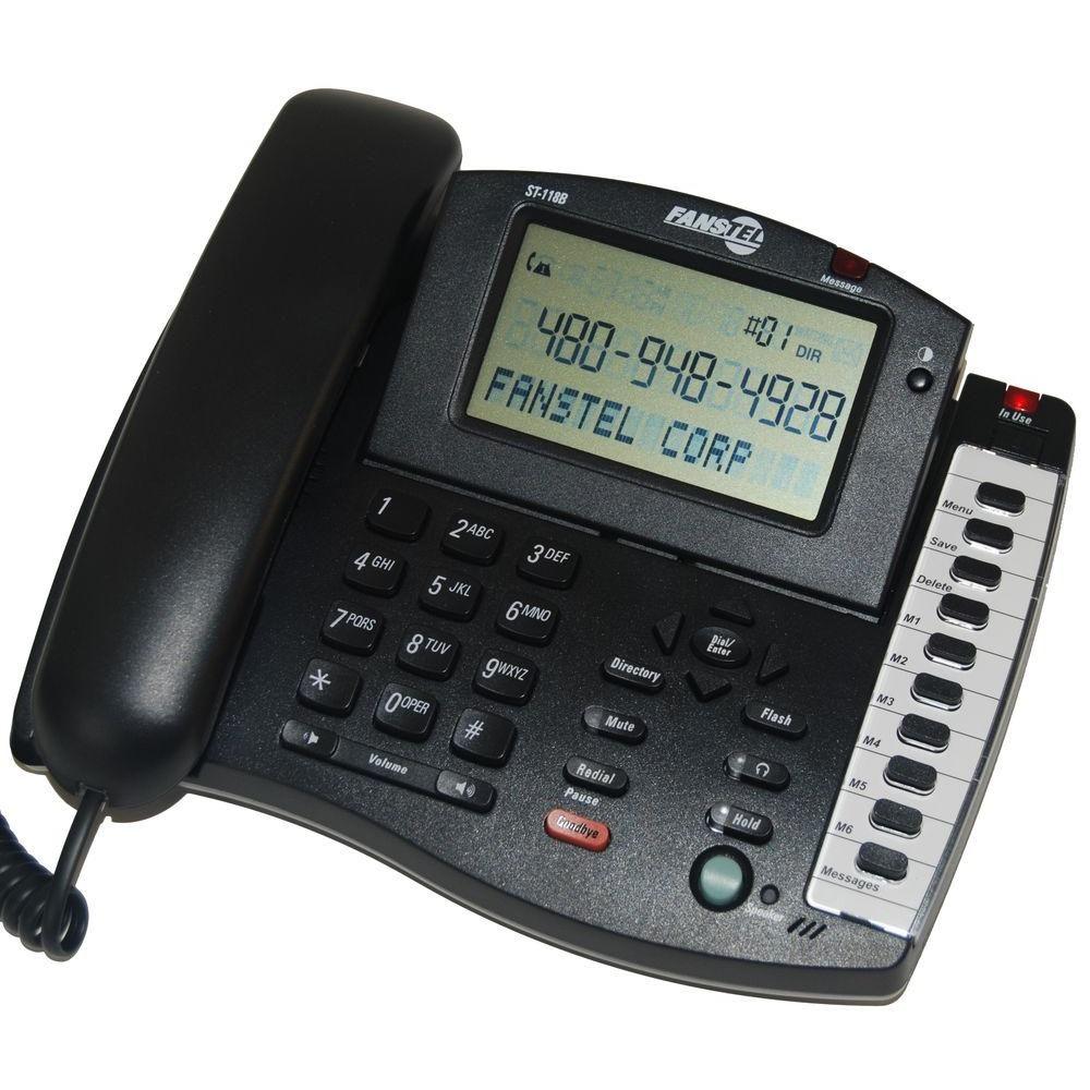 1-Line Business Speakerphone with Big Screen Caller ID Phone