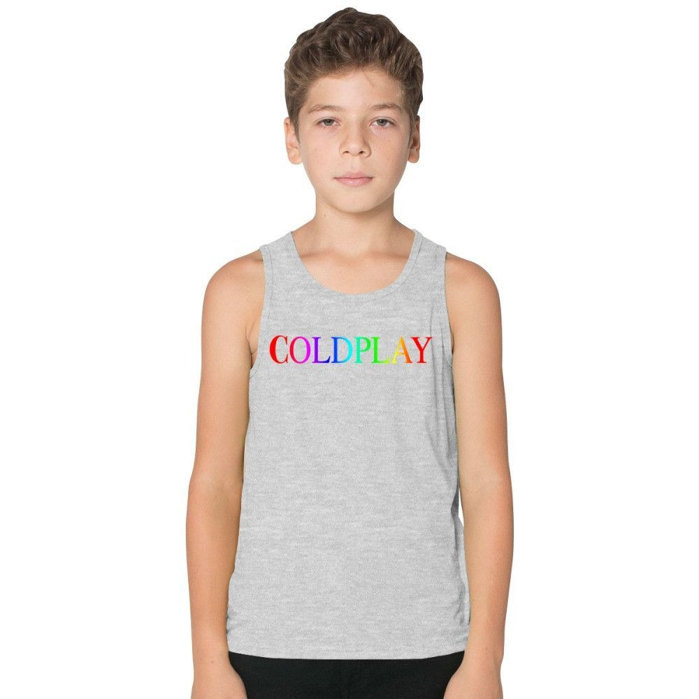 Coldplay Kids Tank Top
