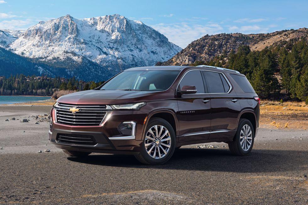 Chevy Traverse Gets Slightly Handsomer For 2021 Chevrolet Traverse Chevrolet Chevy