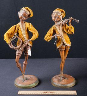 "Handcarved 3 3//4/"" high legged teakwood stand"