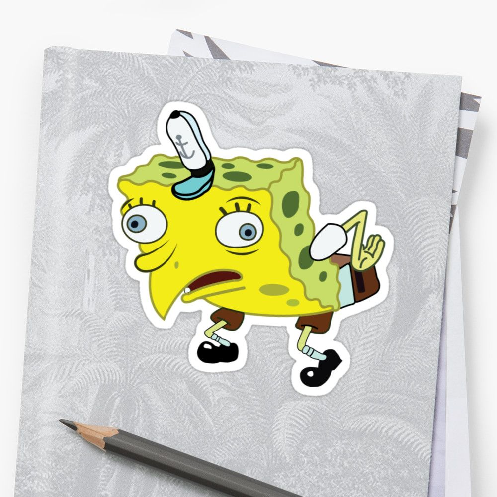 'High Quality Spongebob Meme' Sticker by Lol XD Meme