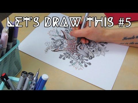 """How to Draw a """"Kitsune"""" 