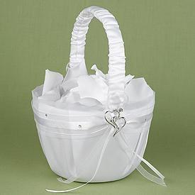 Pattern for Flower Girl Basket | Flower Girl Baskets, Discount Flower Girl Baskets, Wedding Flower Girl ...