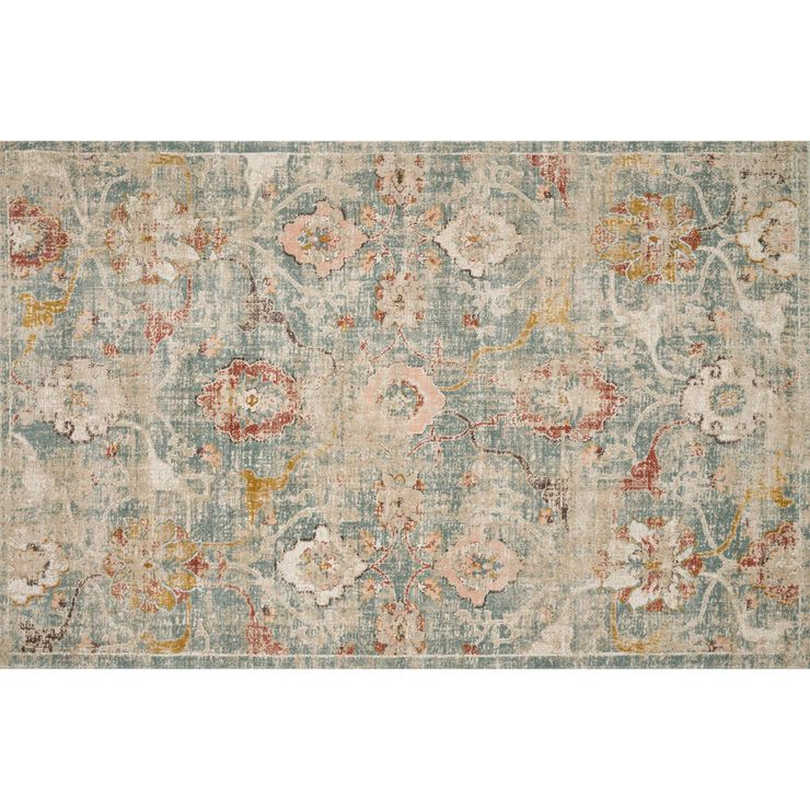 E240 Lowottawa Rug 8 X 10 Blue Beige With Images Outdoor