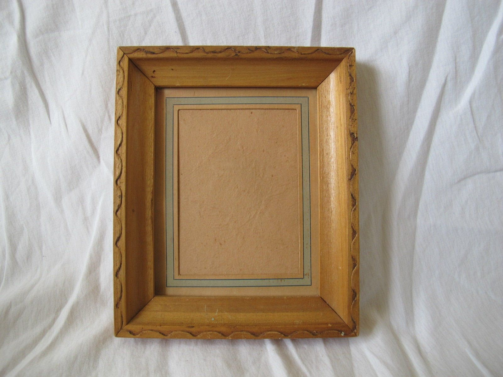 Vintage Blonde Carved Wood Frame 4 3 4 By 3 3 4 Inch Picture Etsy Carved Wood Frame Natural Wood Frames Wood Frame
