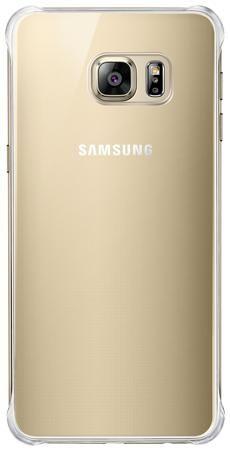 Чехол Samsung Glossy Cover S6 edge+, золотой  — 590 руб. —  Крайне полезный аксессуар для Samsung GALAXY S6 Edge+, аккуратная крышка для задней части объединена в одну деталь с бампером золотого цвета. Этим достигается прекрасный уровень защиты для торцов и крышки аккумулятора. Чехол не сильно увеличивает размеры устройства. Оригинальный аксессуар.
