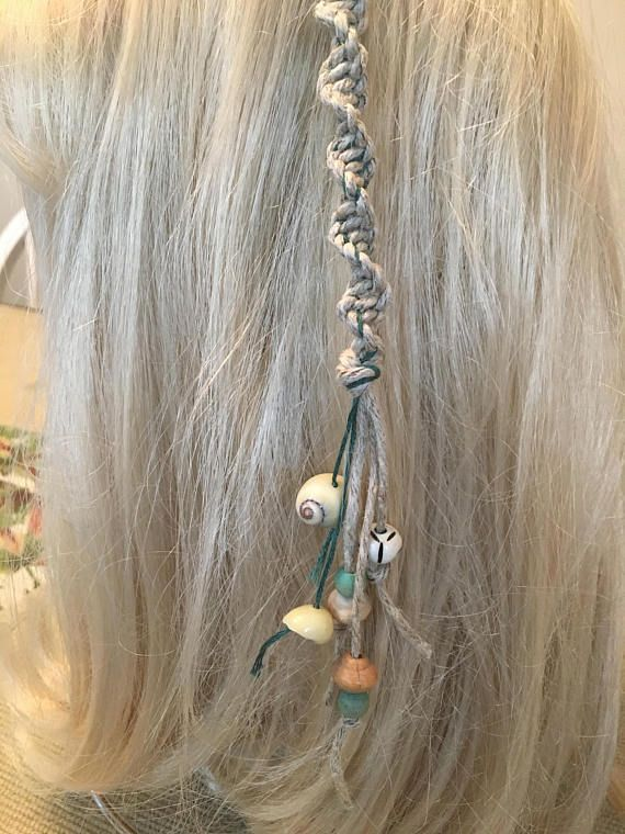 Mermaid Hair Wrap Available At Thegypsybeadsy Removable