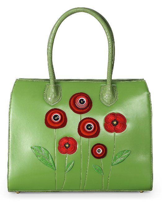 Poppy Victoria Bag - White: Amazon.de: Schuhe & Handtaschen