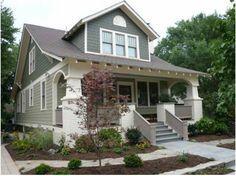 craftsman bungalow exterior paint colors Google Search colors i