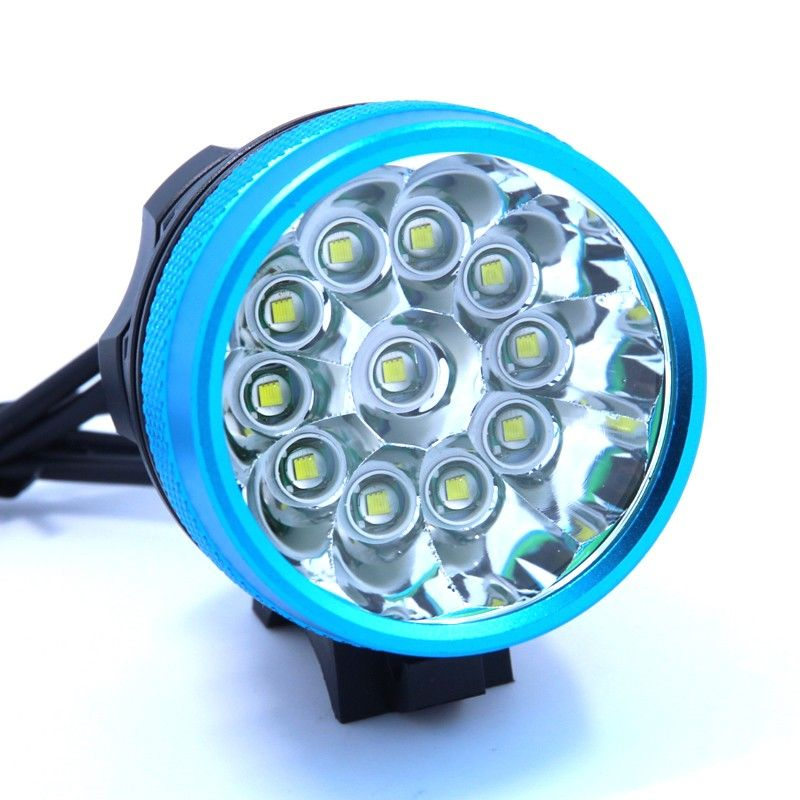 2 In 1 Headlamp Headlight 20000 Lumens 11 X Xm L T6 Led Bicycle Light Cycling Bike Head Lamp 18650 Battery P Bicycle Lights Bike Lights Battery Pack Charger