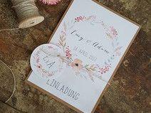 Einladung Hochzeit DIY - Musterexemplar