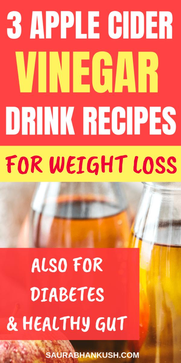 Apple Cider Vinegar Detox Drink Recipes - For Weight Loss, Diabetes + Healthy Gut - SaurabhAnkush