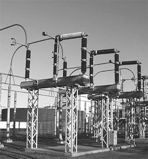 Multiple Interrupter Gap Per Phase Circuit Switcher Electrical Substation High Voltage Circuit