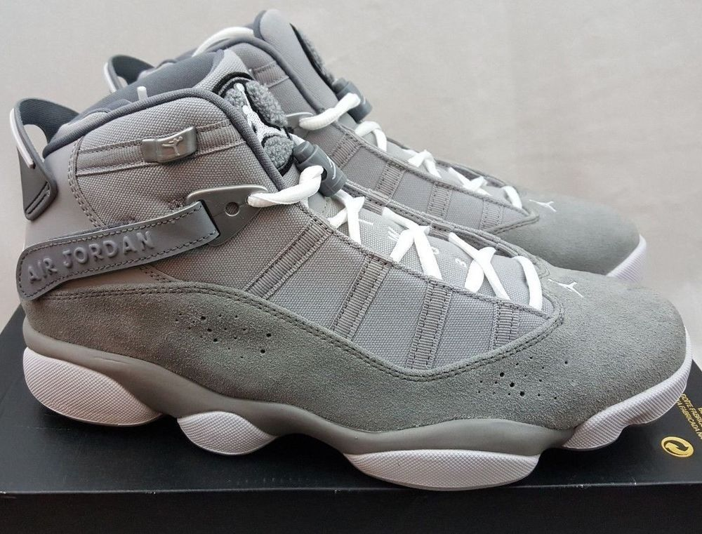 2a3dbb8f764b Air Jordan 6 Rings Matte Silver Cool Grey Basketball Shoes 322992-014 Size  9.5  Jordan  BasketballShoes
