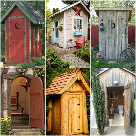 18 outhouse plans and ideas for the homestead | homestead & survival