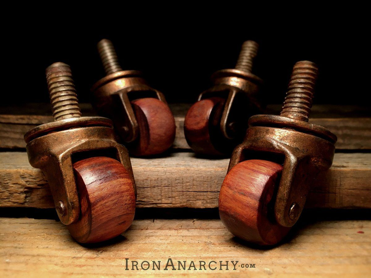 Image of Antique Furniture Casters - Image Of Antique Furniture Casters 50 BEST INDUSTRIAL DECO HOME