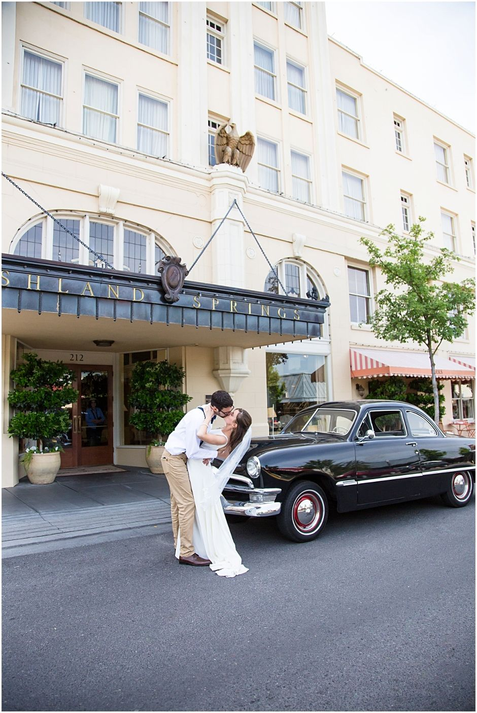 Ashland Springs Hotel Morning Wedding Oregon Andrew Jenna Stevi Sayler Photography