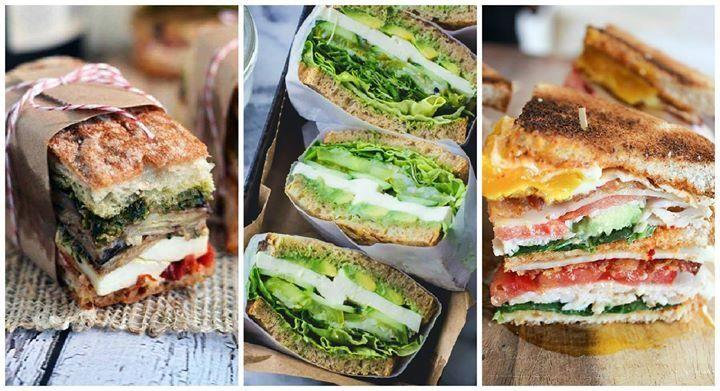 ¡Los 25 sándwiches del verano!