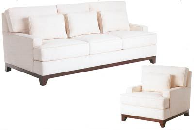 Flores Design Houston Contemporary Sofa, Chair Or Sectional