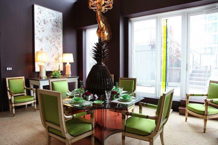 ▷ 1001 + Ideen und Bilder zum Thema Aubergine Farbe - farbe wohnzimmer ideen