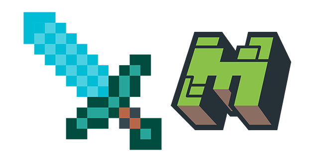Minecraft Diamond Sword Logo Minecraft Diamond Sword Sword Logo Minecraft