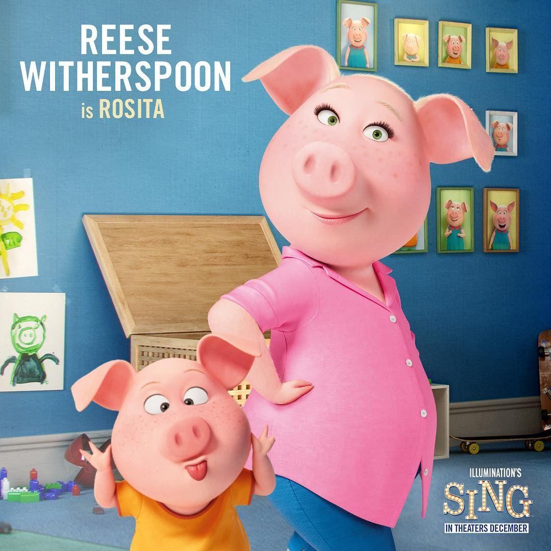 Meet Rosita This Mom Can Do It All Singmovie Sing Movie
