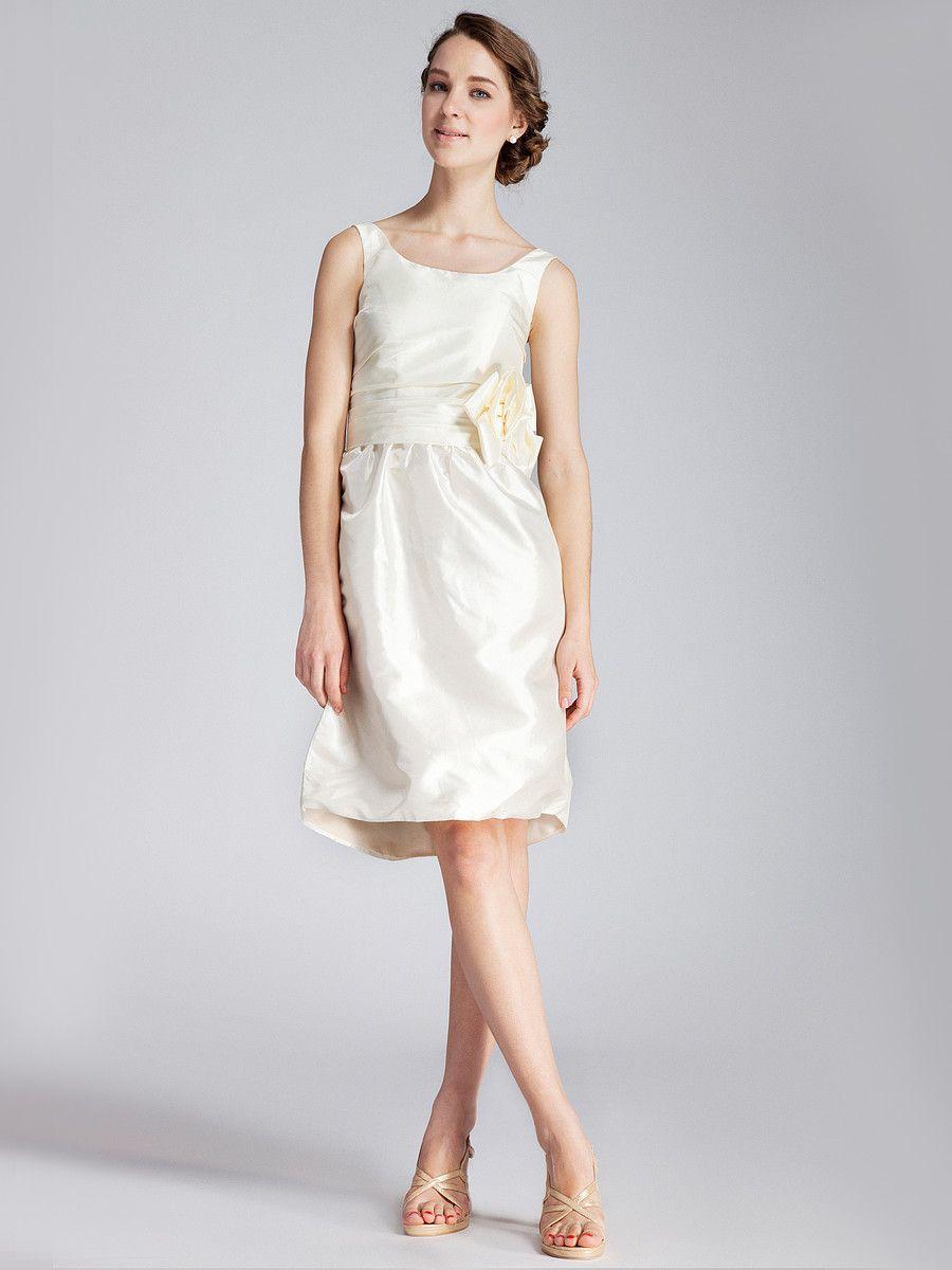 Taffeta Little White Dress | Dresses | Pinterest | Wedding dress ...