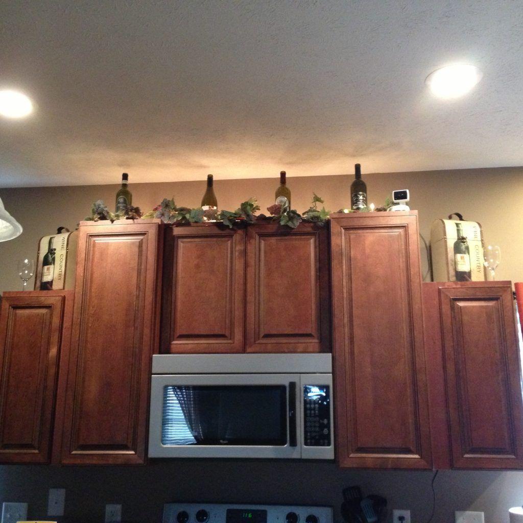 Wine Bottle Decorations For Kitchen Decor Themes Farmhouse